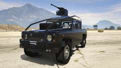 Land Rover 110 Pickup Armoured