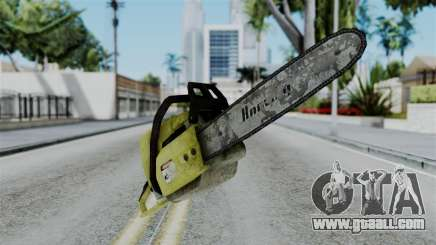No More Room in Hell - Chainsaw for GTA San Andreas