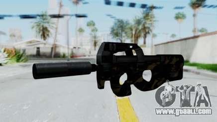 P90 Camo2 for GTA San Andreas