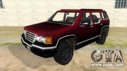 GTA III Landstalker for GTA San Andreas