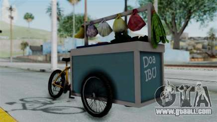 Gerobak Sayur (Vegetable Carts) for GTA San Andreas
