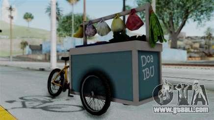 Gerobak Sayur (Vegetable Carts) for GTA San Andreas