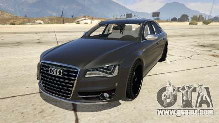 2013 Audi S8 4.0TFSI Quattro for GTA 5
