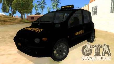 Fiat Multipla FAKETAXI for GTA San Andreas