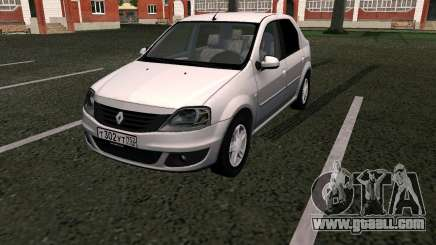 Dacia Logan for GTA San Andreas