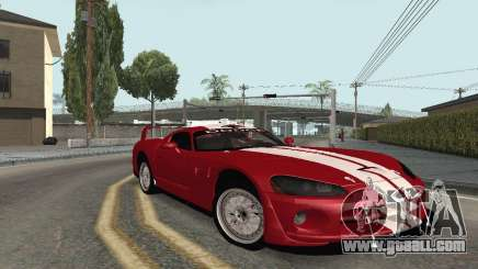 Dodge Viper Competition Coupe for GTA San Andreas