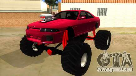 Nissan Skyline R33 Monster Truck for GTA San Andreas
