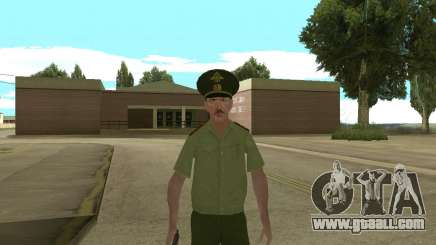 Senior warrant officer danyluk for GTA San Andreas