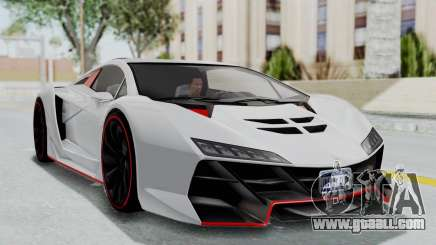 GTA 5 Zentorno Tron for GTA San Andreas