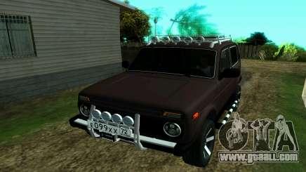 VAZ 2121 Niva Forester for GTA San Andreas