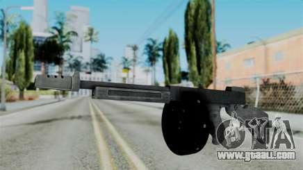 GTA 5 Gusenberg Sweeper - Misterix 4 Weapons for GTA San Andreas