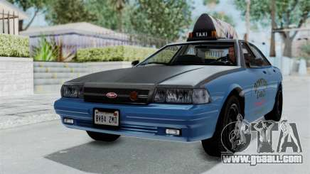 GTA 5 Vapid Stanier II Taxi for GTA San Andreas