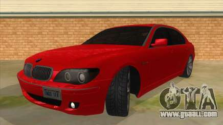 BMW 760 LI for GTA San Andreas