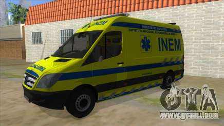 Mercedes-Benz Sprinter INEM Ambulance for GTA San Andreas
