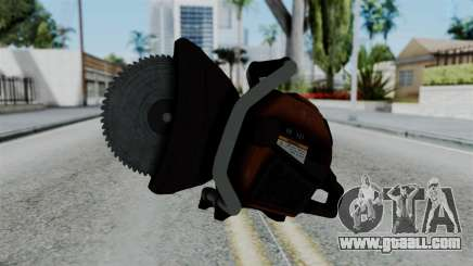 No More Room in Hell - Abrasive Saw for GTA San Andreas