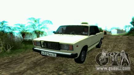 VAZ 2107 Taxi for GTA San Andreas