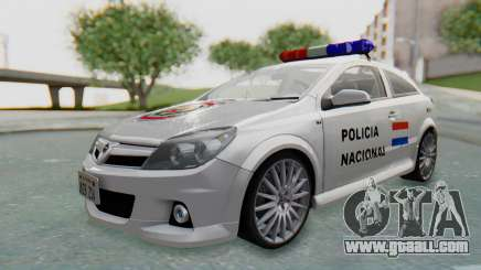 Opel-Vauxhall Astra Policia for GTA San Andreas