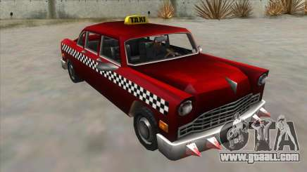 GTA3 Borgnine Cab for GTA San Andreas