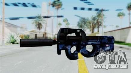 P90 Camo3 for GTA San Andreas