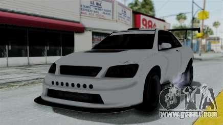 GTA 5 Karin Sultan RS Drift Double Spoiler PJ for GTA San Andreas