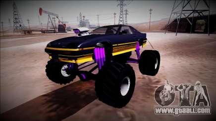 GTA 5 Imponte Ruiner Monster Truck for GTA San Andreas