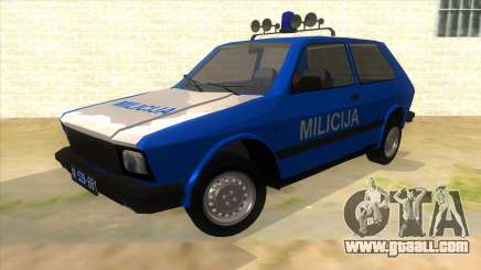 Yugo Koral Police for GTA San Andreas