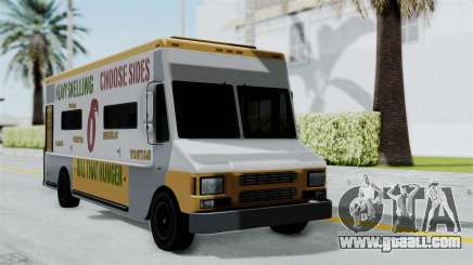 GTA 5 Tacovan for GTA San Andreas