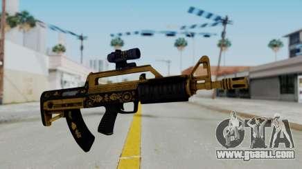 GTA 5 Online Lowriders DLC Bullpup Rifle for GTA San Andreas