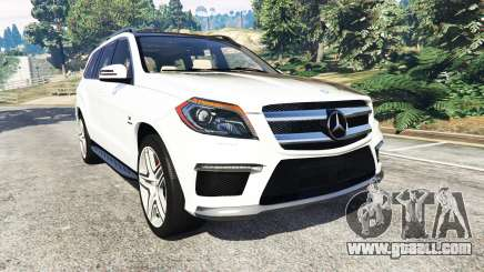 Mercedes-Benz GL63 (X166) AMG for GTA 5