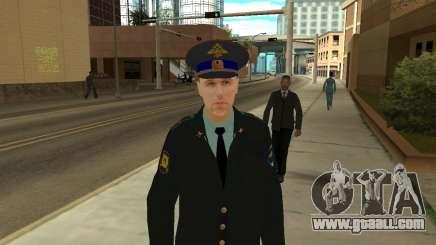 The Skin Is Sergei Glukharev for GTA San Andreas
