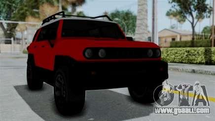 GTA 5 Karin Beejay XL for GTA San Andreas