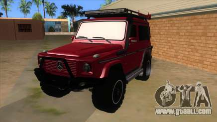 Mercedes-Benz G500 Off Road V3.0 for GTA San Andreas