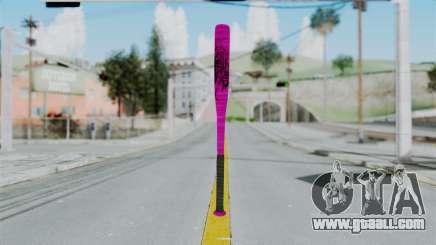 GTA 5 Baseball Bat 4 for GTA San Andreas