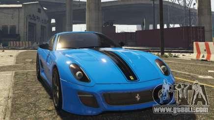 Ferrari 599 GTO[Replace] for GTA 5