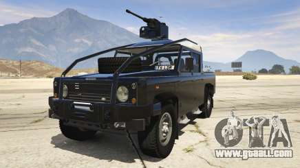 Land Rover 110 Pickup Armoured for GTA 5