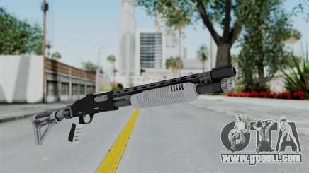 GTA 5 Pump Shotgun - Misterix 4 Weapons for GTA San Andreas