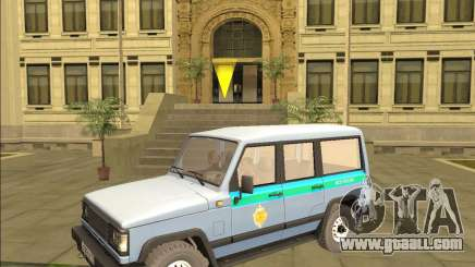 THE UAZ 3170 FSB for GTA San Andreas