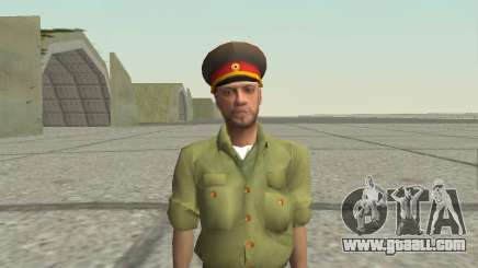Officer of the armed forces of the Russian Federation for GTA San Andreas