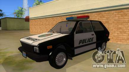 Yugo GV Police for GTA San Andreas