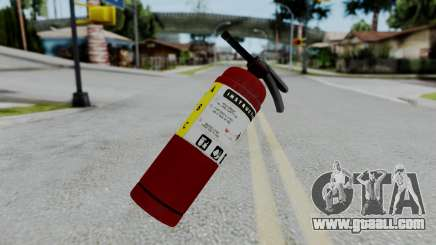 No More Room in Hell - Fire Extingusher for GTA San Andreas