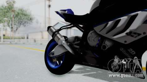 BMW S1000RR HP4 for GTA San Andreas right view