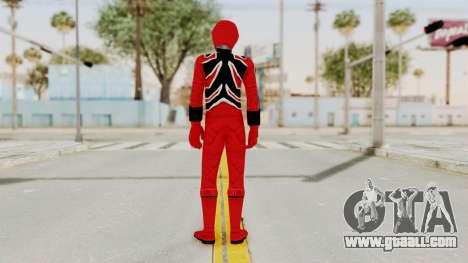 Power Rangers Jungle Fury - Red for GTA San Andreas third screenshot