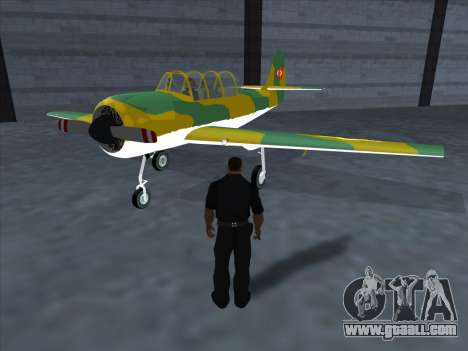 Yak-52 for GTA San Andreas