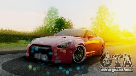 Nissan GTR-R35 Liberty Walk LB performance for GTA San Andreas
