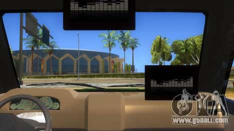 Toyota Kijang Grand Extra Full for GTA San Andreas inner view