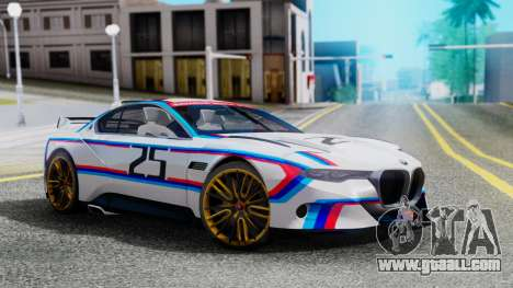 2015 BMW CSL 3.0 Hommage R for GTA San Andreas