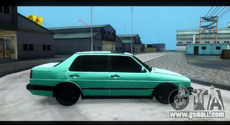 Volkswagen Jetta Mk2 for GTA San Andreas side view