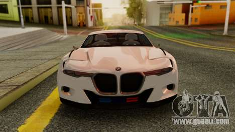 2015 BMW CSL 3.0 Hommage R for GTA San Andreas back left view