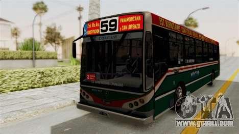 Metalpar Iguazu MB-1718L-SB Linea 59 for GTA San Andreas