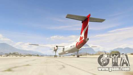GTA 5 Bombardier Dash 8Q-400 third screenshot